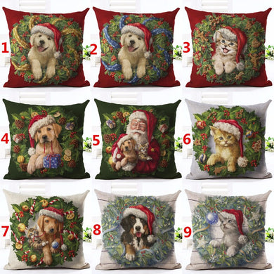 Christmas Decoration Cushion Covers