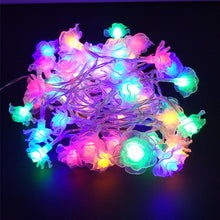 5M Garland Rose Flower Fairy Luces