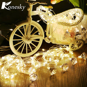 3*3m 300-LED Curtain Light Fairy Warm White String