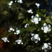 Flower Starry String Lights 33ft 100 LED Decorative Light Cold White