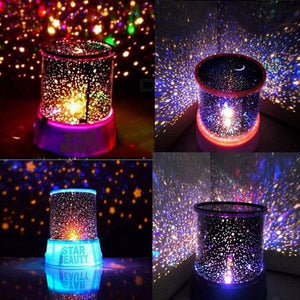Night Light Purple Table Lamp for Bedroom
