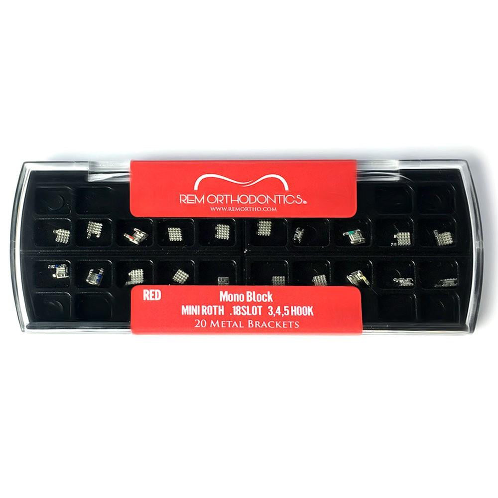Brackets REM RED mini roth .18