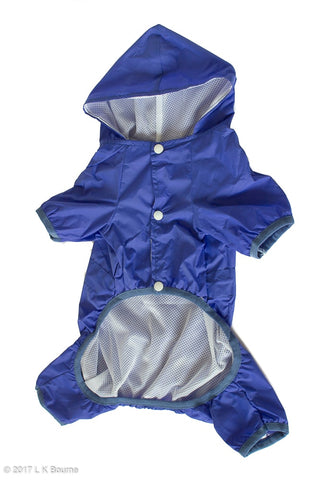 Blue Dog Raincoat - Woof Suits