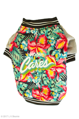 Hawaiian Aloha Dog Jacket - Woof Suits
