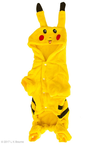 Pikachu Dog Suit - Woof Suits