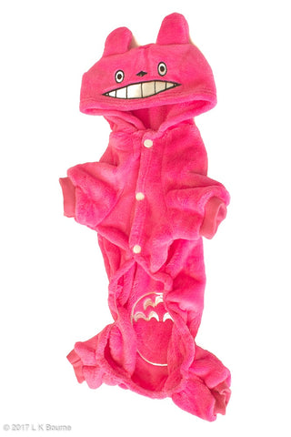 Pink Totoro Dog Suit - Woof Suits