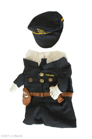 Policeman Dog Costume - Woof Suits