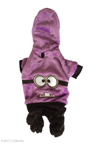 Purple Minion Dog Suit - Woof Suits
