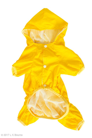 Yellow Dog Raincoat - Woof Suits