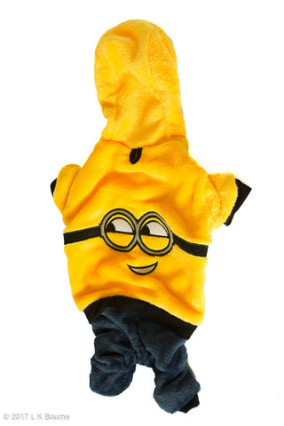 Yellow Minion Dog Suit - Woof Suits