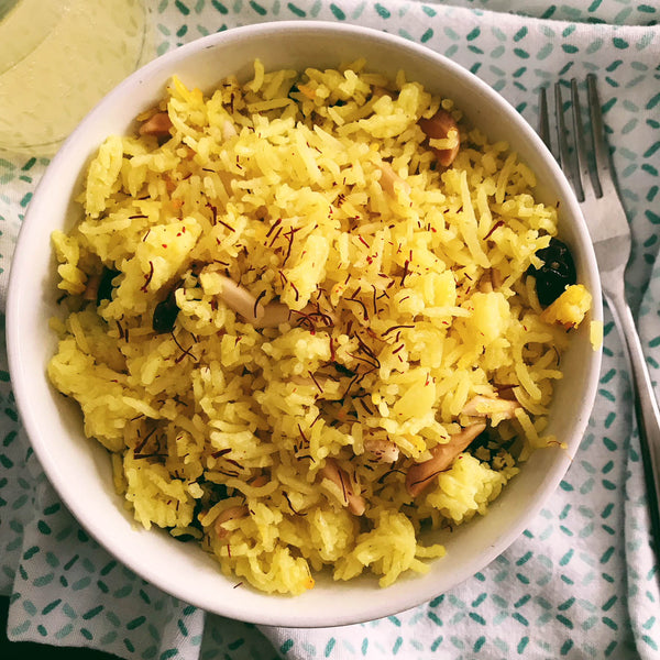Recipe: Saffron Rice