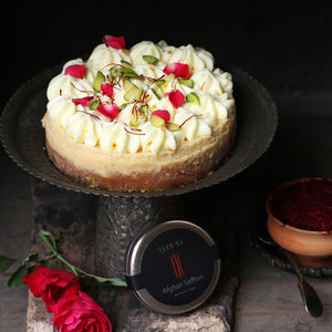 Recipe: Saffron Cheesecake