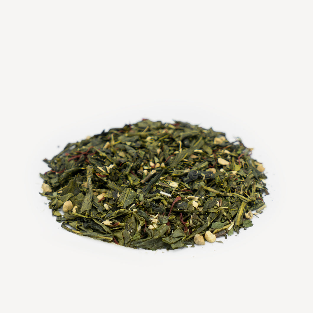 Saffron Sencha Green Tea Blend (Loose Leaf)