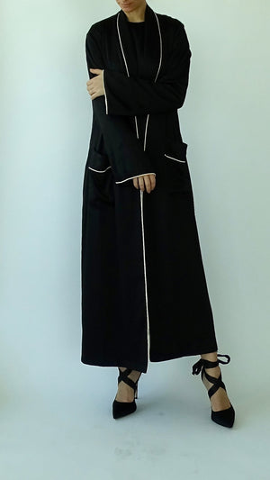 NOOR Maxi Jacket - Black