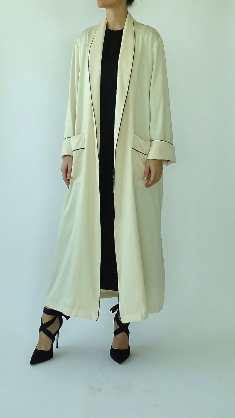 NOOR Maxi Jacket - Cream
