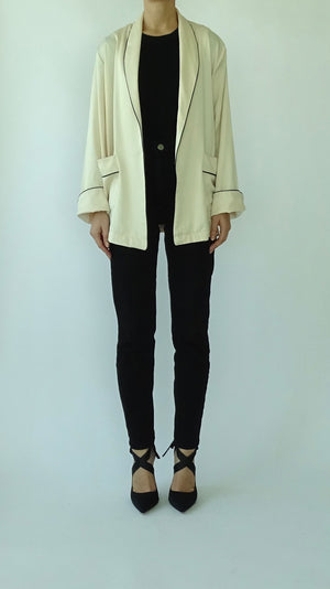 NOOR Short Jacket - Cream