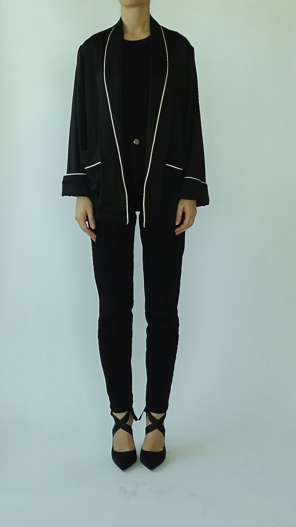 NOOR Short Jacket - Black