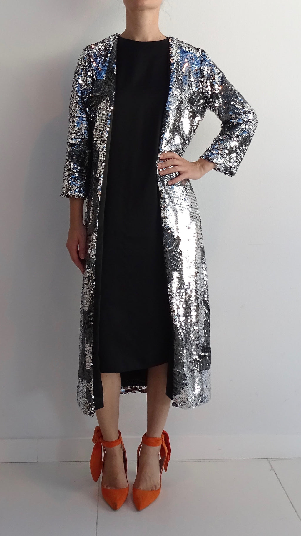NIAMH Sequined Midi Jacket