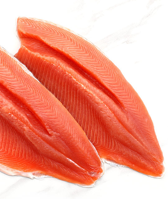 Red Rainbow Trout fillet