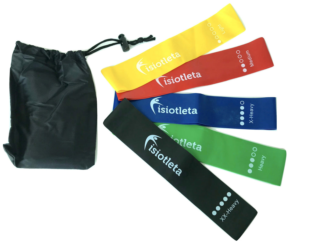 Set 5 bandas cerradas Loop band con Sport-bag