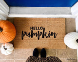 Hello Pumpkin Doormat - Urban Owl Co