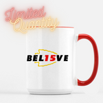 Believe Patrick Mahomes Kansas City Chiefs Coffee Mug