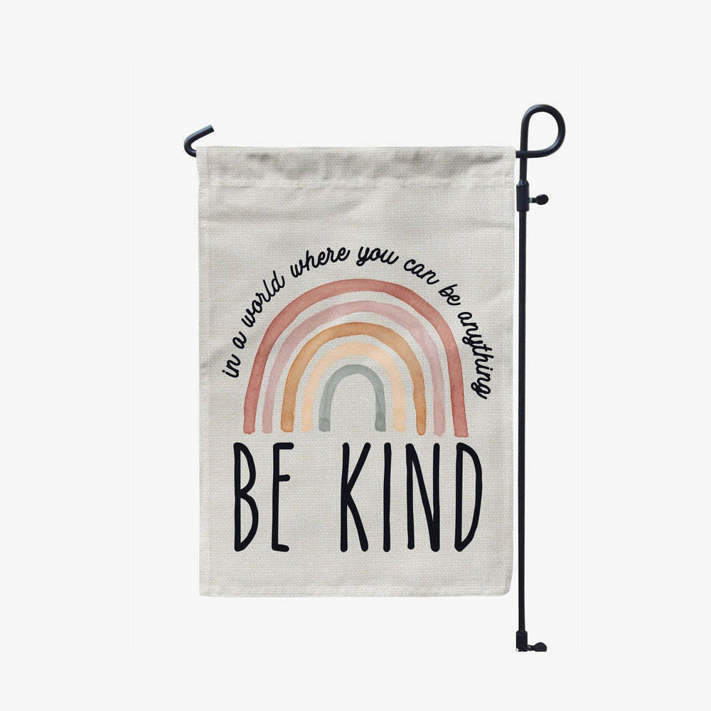 Be Kind Garden Flag - Urban Owl