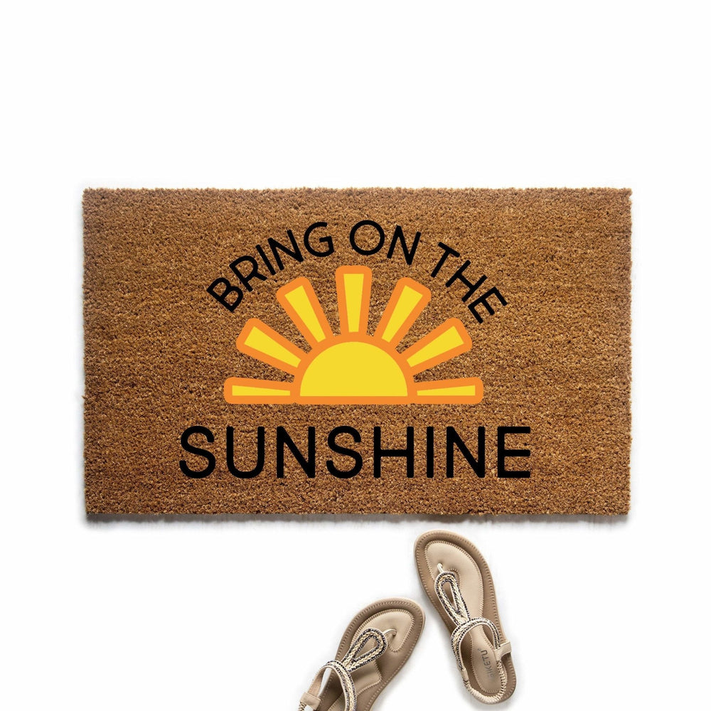 Bring on the Sunshine Doormat - Urban Owl Co