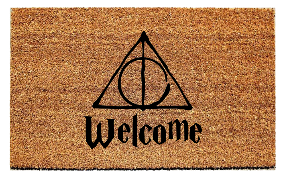 Harry Potter Inspired Welcome Doormat - Urban Owl Co
