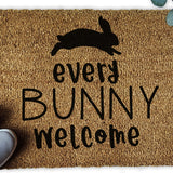 Every Bunny Welcome Easter Doormat - Urban Owl Co