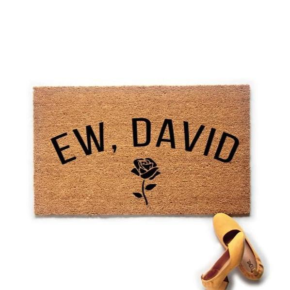 Ew, David Schitt's Creek Inspired Doormat - Urban Owl