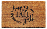 Happy Fall Ya'll Doormat - Urban Owl Co