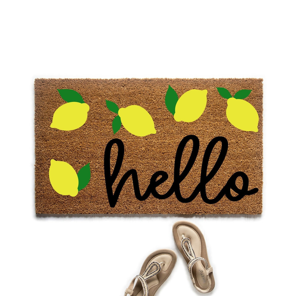 Hello Lemon Doormat