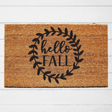 Hello Fall Doormat - Urban Owl Co