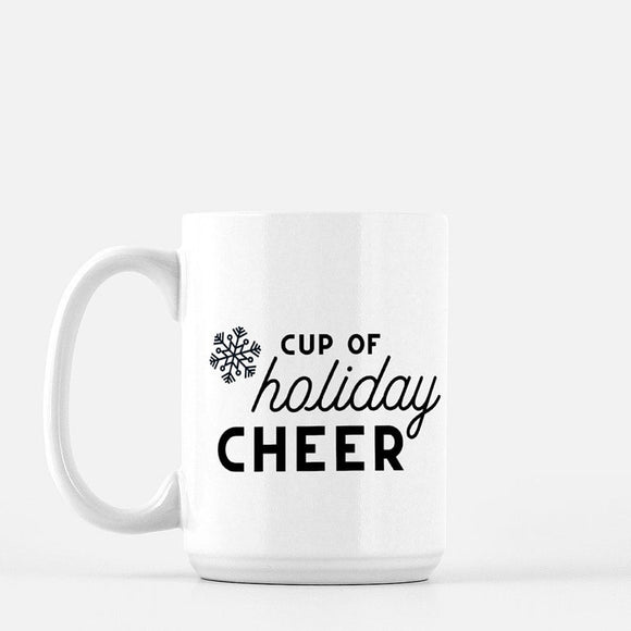 Cup of Holiday Cheer Coffee Mug - Urban Owl Co