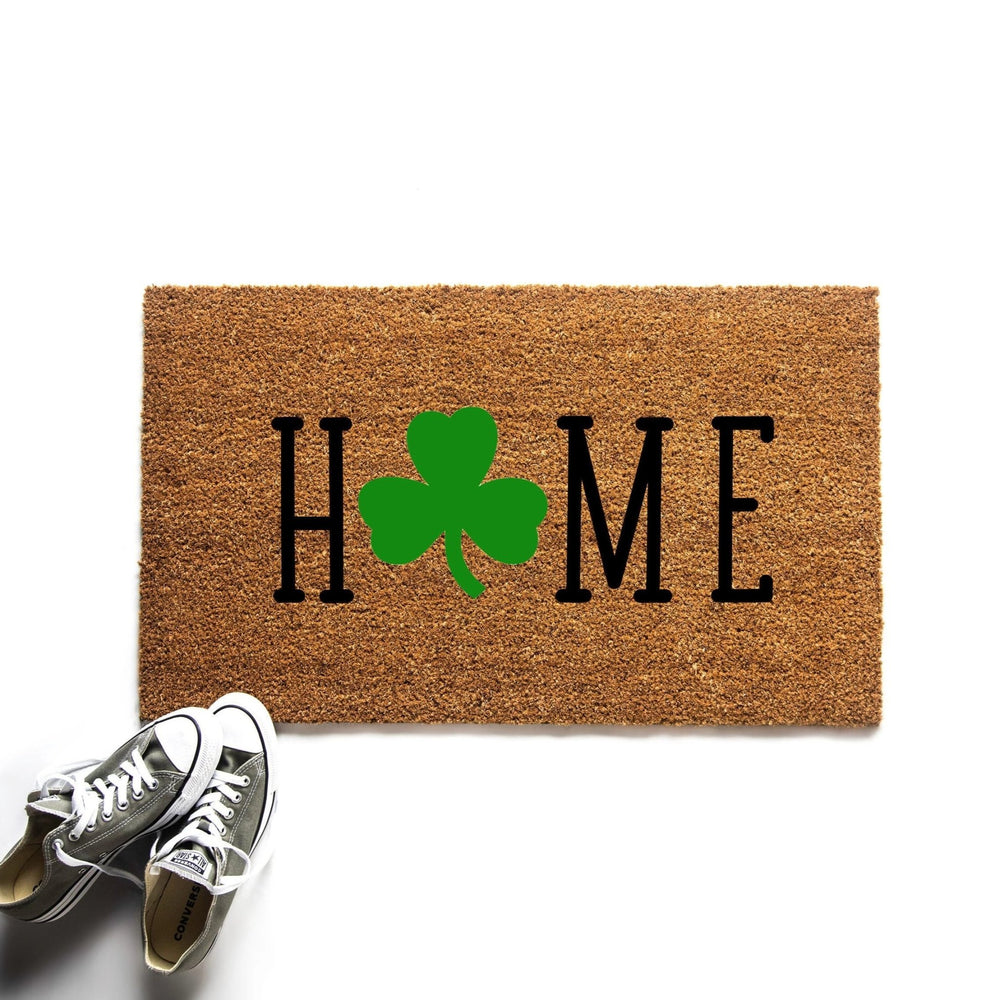 Home Shamrock St. Patrick's Day Irish Doormat - Urban Owl
