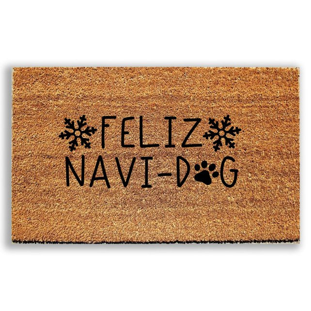 Feliz Navi-Dog Doormat - Urban Owl Co