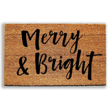 Merry and Bright Doormat - Urban Owl Co