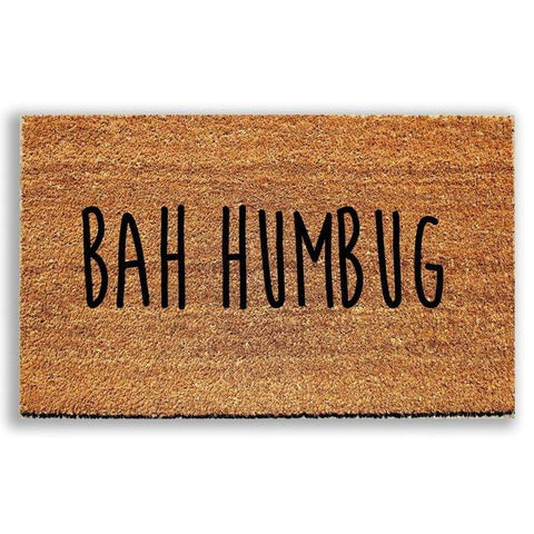 Bah Humbug Doormat - Urban Owl Co