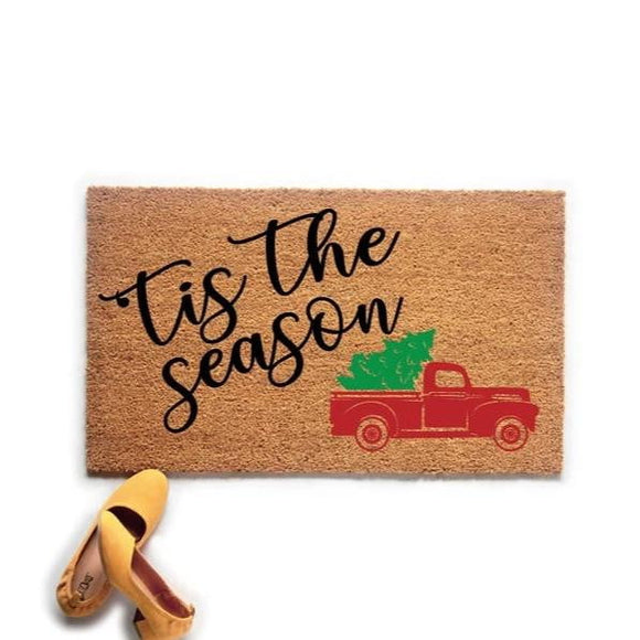 'Tis the Season Doormat - Urban Owl Co