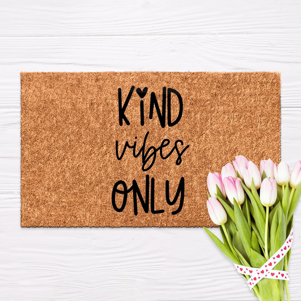 Kind Vibes Only Doormat