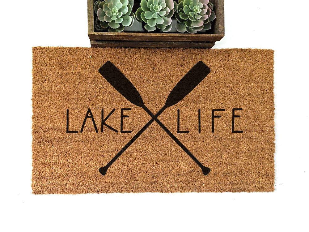 Lake Life Doormat - Urban Owl