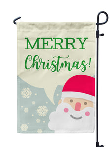 Merry Christmas Garden Flag - Urban Owl Co