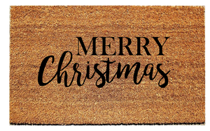 Merry Christmas Doormat - Urban Owl Co