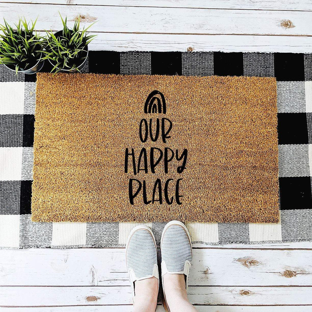 Our Happy Place Doormat - Urban Owl