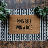 Ring Bell, Win a Dog Doormat - Urban Owl