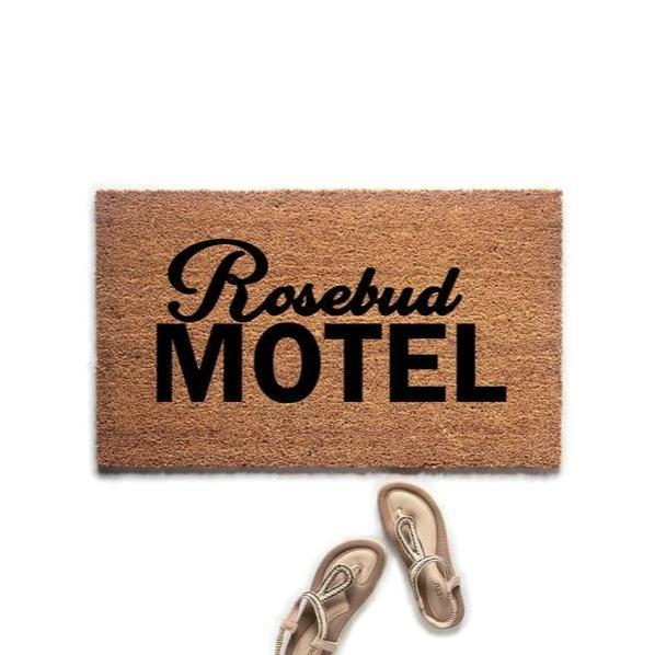 Rosebud Motel Schitt's Creek Inspired Doormat - Urban Owl Co