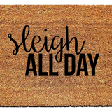 Sleigh All Day Doormat - Urban Owl Co