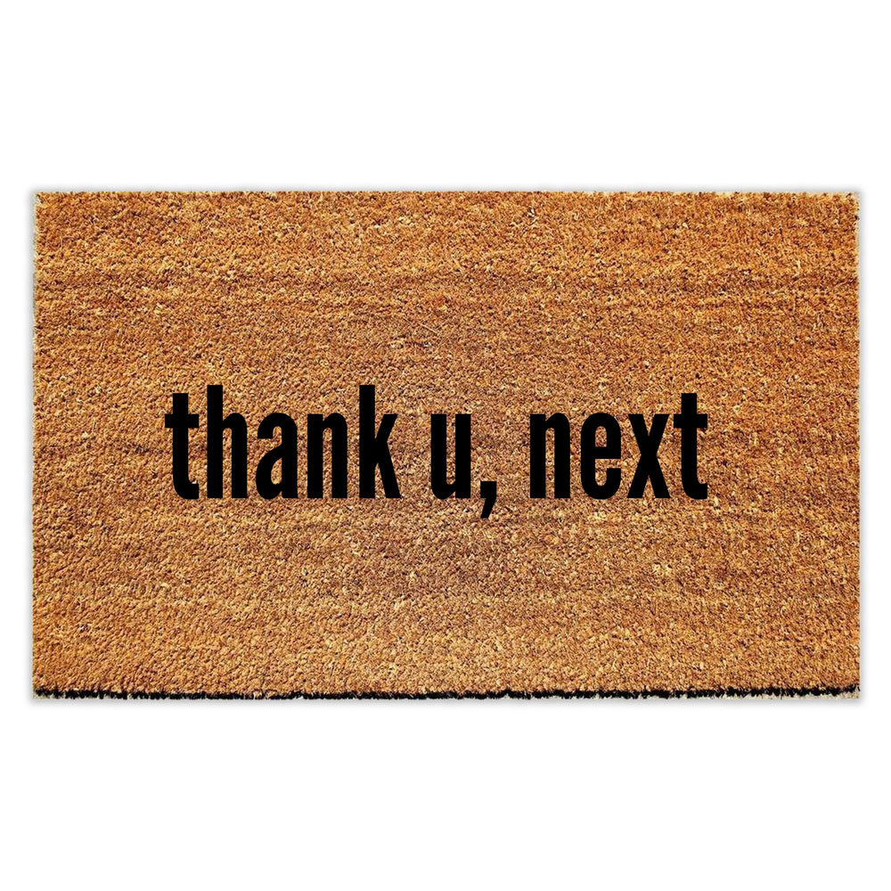 Thank U, Next Doormat - Urban Owl