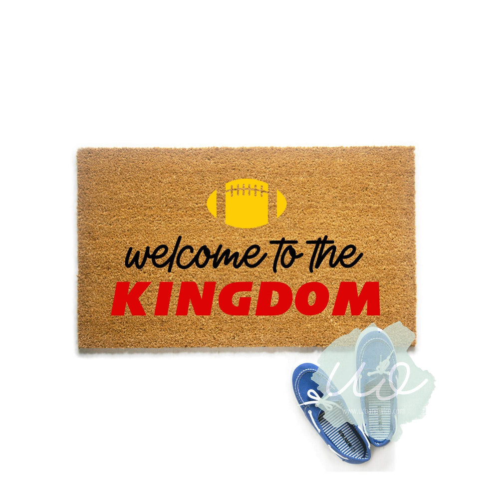 Welcome to the Kingdom Kansas City Football Doormat
